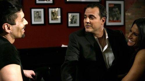 SCREENSHOT! Bar scene with Frankie Ramos, Evan Davis, and Michelle Lamelza