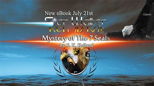 """Promo Art for New eBook Series Release  """"Mystery of The 7 Seals"""" by G. K. Holland"""