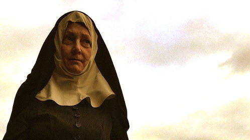 """I'm  a spooky demon-chasing nun in """"The Chosen""""  which premiered at VidCon and sold out simultaneous screenings all over the US.  Coolest thing is that this is the last shot of the film!"""