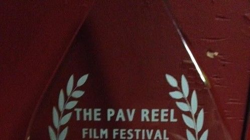 """Best Actress Award at the Pav Reel Film Festival Cork 2015, for the film """"Container""""  directed by Baz David"""