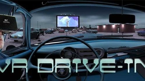 VR DRIVEIN     GO BACK INTO THE PAST AND ESCAPE IN A VIRTUAL REALITY DRIVE IN THEATER!   RESERVE YOUR SPOT NOW FOR COMIC CON 2015 SALT LAKE CITY  801 462 1656 OR 385 313 8076