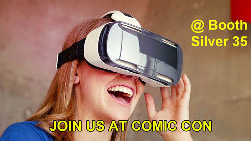 EXPERIENCE VR AT SALT LAKE COMIC CON BOOTH SILVER 35    VR DRIVE IN     CALL TO RESERVE YOUR SPOT 801 462 1656  DON'T BE CAUGHT WAITING IN LINE, WHEN YOU CAN RESERVE YOUR SPOT NOW!