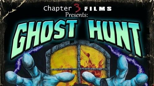 """Poster for our latest short """"Ghost Hunt""""."""