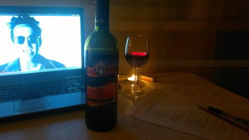 Yelawolf+sweet red wine+writing=perfect!