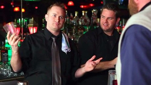 "Playing the jerk manager in Generation Awesome's web series ""The Bartender Hates You"""