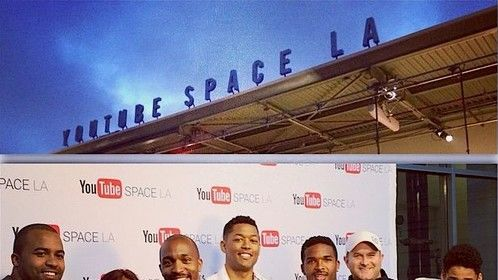 "Trailer premiere of Robot Underdog's short film ""Vigilantes"" at YouTube Space LA"