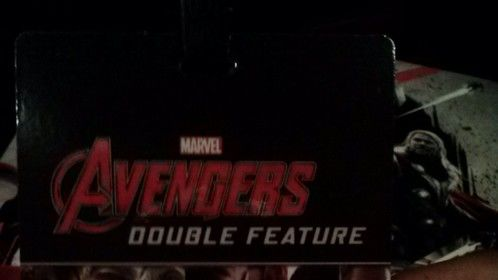 IMAX 3D Double Feature. It was great!!!