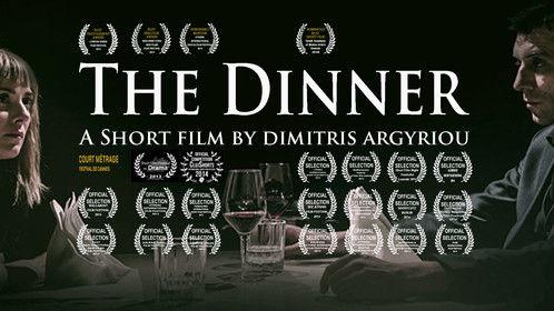 """Poster of film """"THE DINNER"""""""