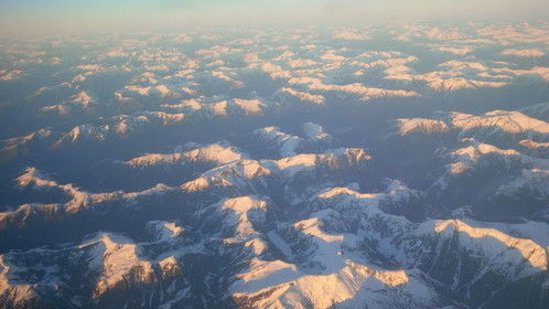 view of Coast Mountains of BC during sun setting on a mid-winter day in early 2016  astronaut Tim Peake posted a photo the same day from space...http://spaceref.com/onorbit/british-columbias-coast-mountains-as-seen-from-orbit.html