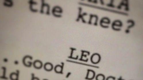 I always enjoy playing names I like. #IAmALeo #Actor #Toronto