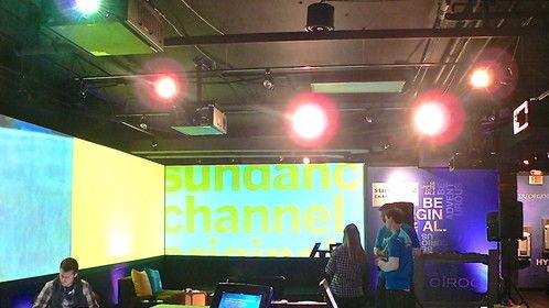 Creative collaboration at Sundance Channel HQ