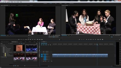 Here is a screen grab of the play I am cutting.