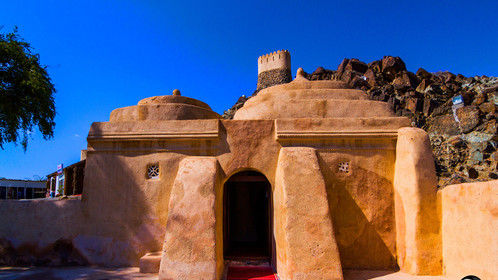 Al Badiyah Mosque. The Al Badiyah Mosque is the oldest extant mosque in the United Arab Emirates. It is located in a small village in emirate Fujairah about 50 km north from region center. It is also known as Ottoman Mosque