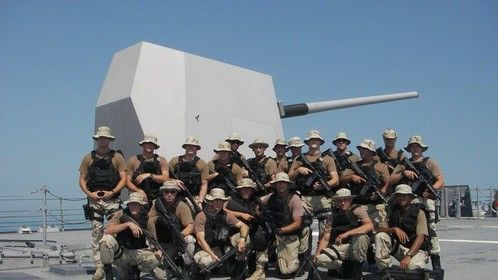My Deployment Team, I'm on the far right.
