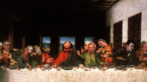 The Last Supper and a Movie
