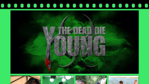 The Dead Die Young - Film Shoot Pics Behind The scenes