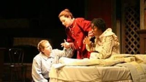 The Miracle Worker Percy...or in this case Percilla learning sign language