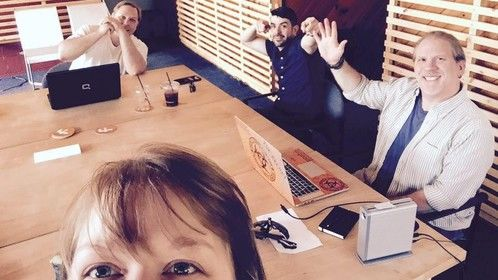 Midwest Film Group selfie