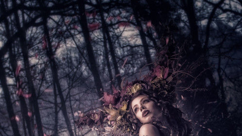 Ophelia. This photo was created for  rawex.diyphotography.net image manipulation contest. You can buy the stocks in their site below. http://rawex.diyphotography.net/ Hope you like it.