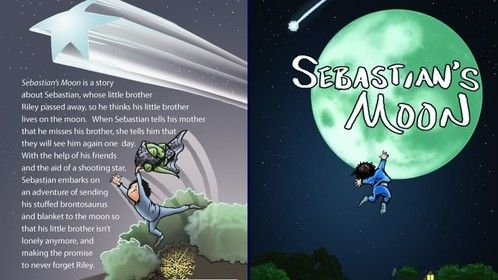 """I'm excited to announce that my new children's picture book """"Sebastian's Moon"""" about a boy whose little brother passed away, and he thinks his brother went to the moon, will be released 1/30/17!  For more info you can check out my website: http://booksbydavidv.weebly.com/  I'm looking forward to big things in 2017 with the release of my new book, as well as developing my screenwriting craft on my quest to getting representation/optioned."""