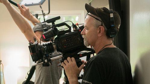 "On set of short film ""I'm In""."