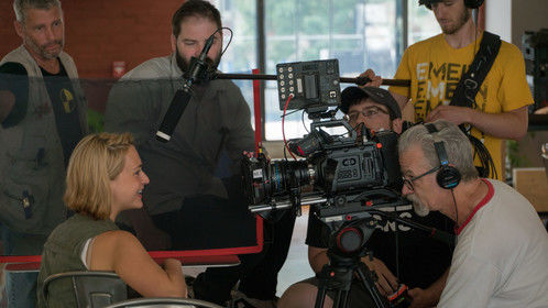 "On set of short film ""I'm In"" 2017."