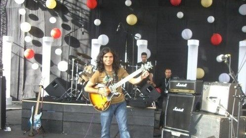 Performing in 2008 at the Mawazine Music Festival in Morocco.