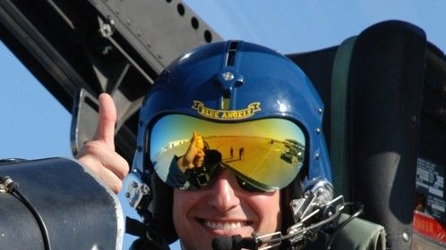 Just before my amazing ride with the World Famous Blue Angels!  #FlyNavy