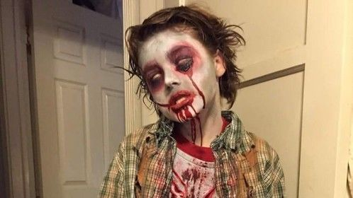 A little zombie <