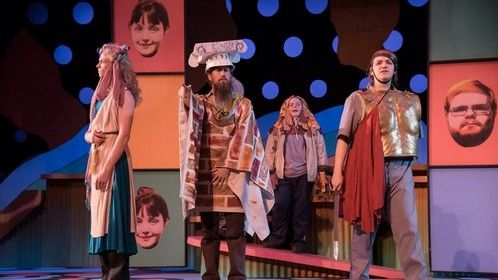Flashback to when I was a literal ass with a Brooklyn accent in a 1960's themed production of the crowd favorite, A Midsummer Night's Dream!