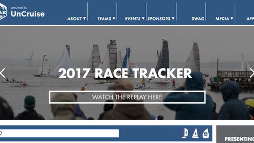 My photo in use on the Race to Alaska (R2AK.com) website.
