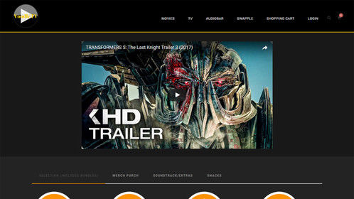 VoodleTV Movies Page, Transformers 5