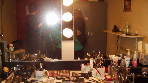 Hair and makeup for the Montel Williams show
