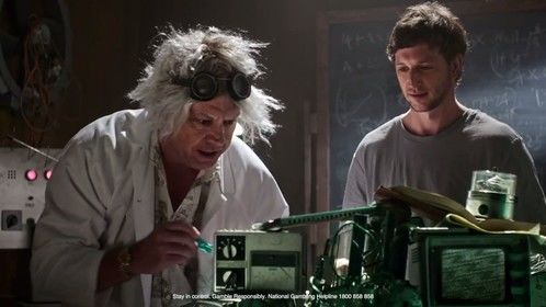 """As the Mad Inventor in the """"Unibet - The Expert Edge"""" commercial - 2017"""