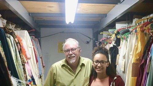 Had a great time getting a private tour of Shon LeBlanc's shop, The Costume House, in North Hollywood. So many treasures!