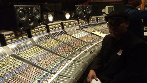 At United Recording Hollywood CA