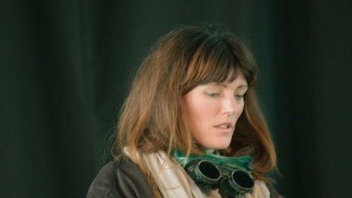 Kate Davies-Speak as Mama in 'Minding Mama'.  image (c) Stephen R Cox.