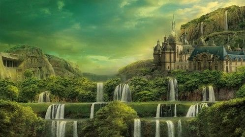 """Thrilled and proud that I just completed my fifth feature-length script, which is also my first collaboration - an original fantasy epic written with my incredibly creative eight-year-old daughter. It's called, """"Land Of The Sunken Garden."""""""