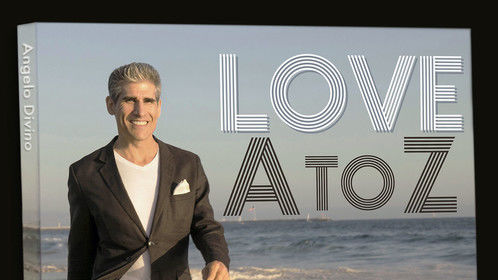 """""""Love A to Z"""" CD cover artwork."""