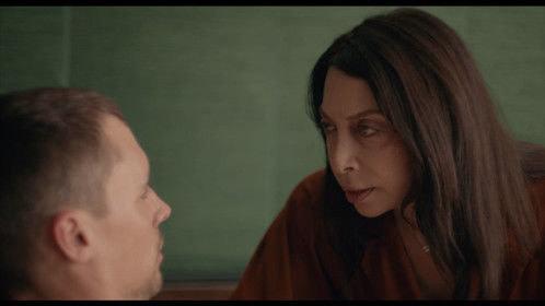 The amazing Ileana Douglas as the mysterious Doctor in ANAMNESIS.