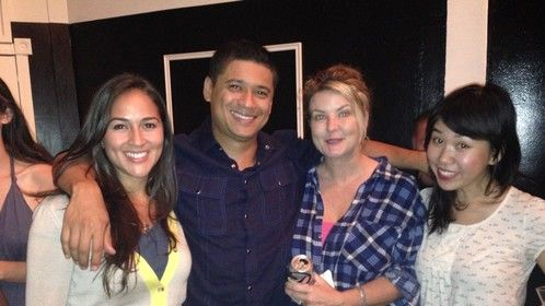 The play Ruby Tuesday's at Studio C Hollywood, 2013 with  Grace Serrano, Ramona Young and Pippa Hinchley