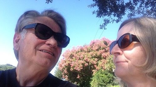 My wife and screenwriting partner Anne Merwin