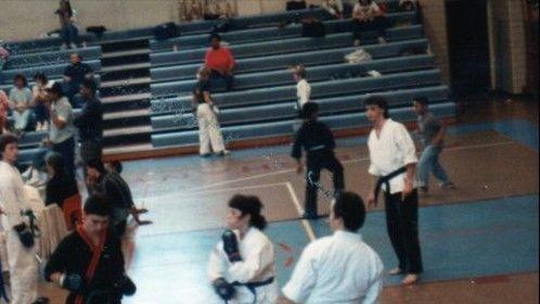 took martial arts in high school