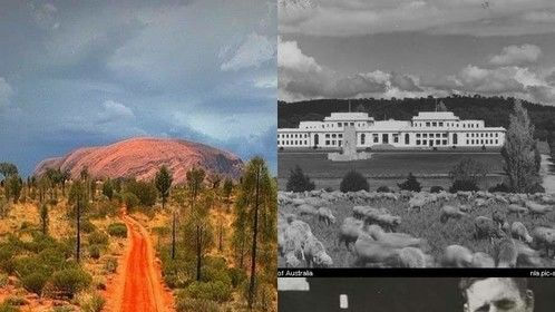 These three images are intrinsic parts of the feature film I'm producing: Flight From the Big Red Rock #1958531495412900947