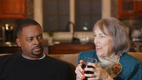 """From Dean Film Works LLC's short film adaptation of Stephen King's """"Rest Stop"""".  Pictured: Actress Marilyn Light and Actor Von Jones  Dean Film Works LLC 2017. All rights reserved."""