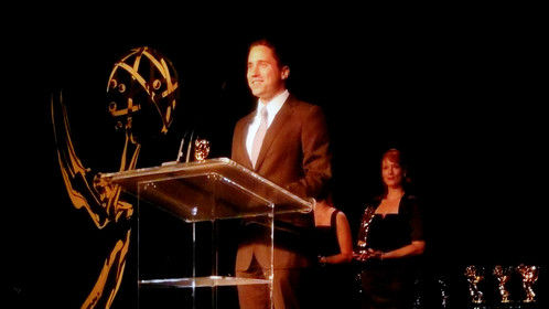 I won a regional Emmy Award in San Diego for my score for The Purple Couch. One heck of a night!