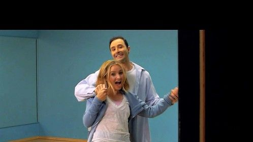 """A photo still from my movie """"Dance Baby Dance"""" - with Beverley Mitchell."""