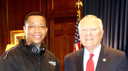 Forrest Tuff and Governor Nathan Deal