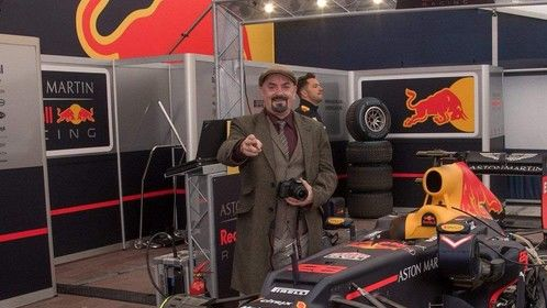 At the Red Bull Formula 1 event in Newry City Ireland