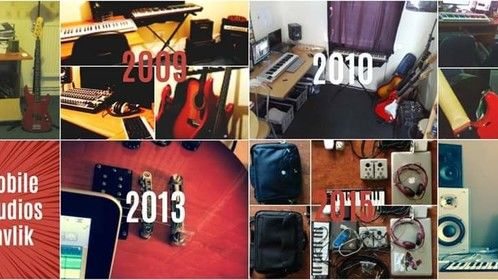 Music production hardware processes and progresses throughout the years.